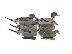 GHG Pro-Grade Weighted Keel Pintail Duck Decoys Pack of 6