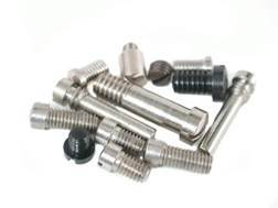 Peacemaker Specialists Smokeless Screw Set Colt 1st Generation Nickel Plated