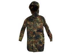 Military Surplus New Condition German Cold Weather Parka Flecktarn Camo