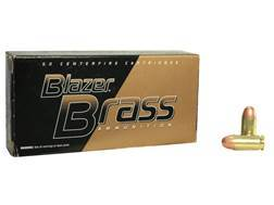 CCI Blazer Brass Ammunition 45 ACP 230 Grain Full Metal Jacket