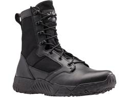 "Under Armour UA Jungle Rat 8"" Uninsulated Tactical Boots Leather and Nylon Black Men's"