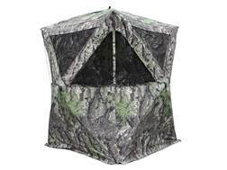 "Primos The Club Ground Blind 64"" x 64"" x 65"" Polyester Ground Swat Grey Camo"