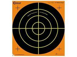 "Caldwell Orange Peel Targets 16"" Self-Adhesive Bullseye Package of 5"