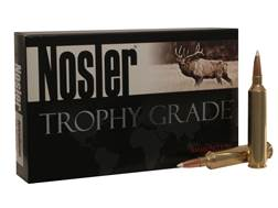 Nosler Trophy Grade Ammunition 26 Nosler 140 Grain AccuBond Box of 20