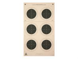 NRA Official Smallbore Rifle Targets A-50 50-Meter UIT Paper Package of 100