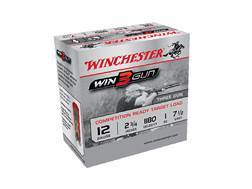 "Winchester Win3Gun Target Ammunition 12 Gauge 2-3/4"" 1 oz #7-1/2 Shot Case of 250 (10 Boxes of 25)"