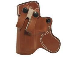 "DeSantis Inner Piece Inside the Waistband Holster Leather Springfield XD9, 40, 45, V-10 4"" Tan"