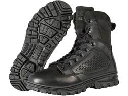 """5.11 EVO 6"""" Side Zip Uninsulated Tactical Boots Leather and Nylon Black Men's"""
