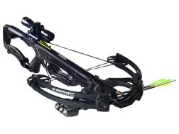 Barnett Razr CRT Crossbow Package with 3x 32mm Illuminated Multi-Reticle Crossbow Scope Black