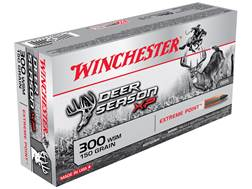 Winchester Deer Season XP Ammunition 300 Winchester Short Magnum (WSM) 150 Grain Extreme Point Polymer Tip