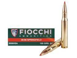Fiocchi Extrema Ammunition 30-06 Springfield 150 Grain Hornady SST Box of 20