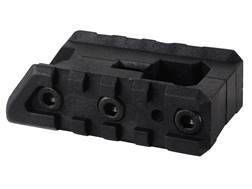 Command Arms FSM Dual Side Picatinny Accessory Rail Mount Fits AR-15 A2 Front Sight Base Polymer Black