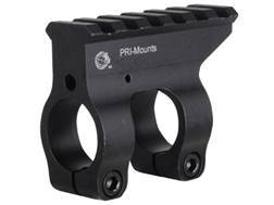 PRI Gas Block Single Picatinny Rail AR-10, LR-308 Standard Barrel Aluminum Matte