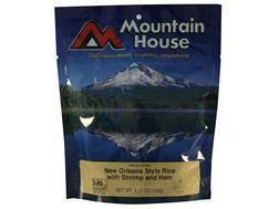 Mountain House Low Sodium New Orleans Rice with Shrimp & Ham Freeze Dried Food 2.5 Servings