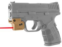 LaserLyte Lyte Ryder Red Laser Sight with Universal Rail Mount Polymer Tan