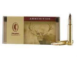 Nosler Custom Ammunition 9.3x62mm Mauser 286 Grain Partition Spitzer Box of 20