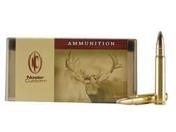 Nosler Custom Ammunition 9.3x62mm Mauser 286 Grain Partition Spitzer Box of 20