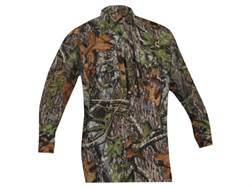 Ol' Tom Men's Vestless Mesh Back Shirt with Spine Pad Long Sleeve Polyester Mossy Oak Obsession Camo Medium