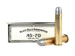 Black Hills Cowboy Action Ammunition 45-70 Government 405 Grain Lead Flat Nose Box of 20