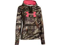 Under Armour Women's Big Logo Hooded Sweatshirt Polyester Realtree Xtra Camo