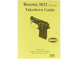 "Radocy Takedown Guide ""Beretta 3032 Tomcat"""