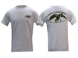Duck Commander Men's Logo T-Shirt Short Sleeve Cotton White Medium