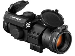 Vortex StrikeFire II Red Dot Sight 30mm Tube 1x 4 MOA Red and Green Dot with Cantilever Low Picatinny-Style Ring Mount Matte