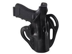 El Paso Saddlery Dual Duty 3 Slot Outside the Waistband Holster Right Hand Glock 17, 22, 31 Leather