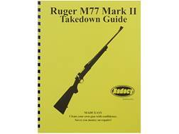 "Radocy Takedown Guide ""Ruger M77 Mark 2"""