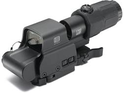 EOTech EXPS2-2 Holographic Hybrid Sight II 68 MOA Circle with (2) 1 MOA Dots Reticle with G33 3X Mag