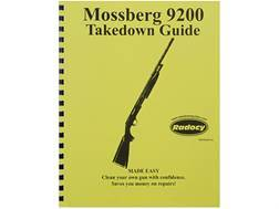 """Radocy Takedown Guide """"Mossberg 9200"""""""