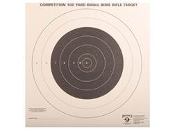 Hoppe's Single Bull Target 100 Yard Small Bore Rifle Pack of 20