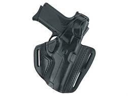 Gould & Goodrich B803 Belt Holster Left Hand Springfield  XD4 9 Leather Black