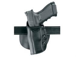 Safariland 568 Custom Fit Belt & Paddle Holster Left Hand Beretta 92, 96, 1911 Commander, CZ 75, 85, EAA Witness Composite Black