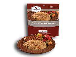Wise Food Outdoor Teriyaki Chicken & Rice Freeze Dried Food 5 oz