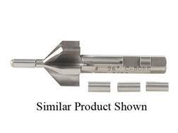 PTG 120-Degree Piloted Barrel Counterbore with 25 Caliber to 284 Caliber, 7mm 4 Pilot Set (.249, .256, .270, .276)