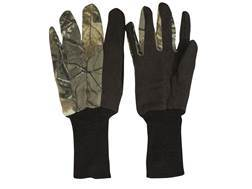 Hunter's Specialties Jersey Gloves Cotton Realtree Xtra Camo