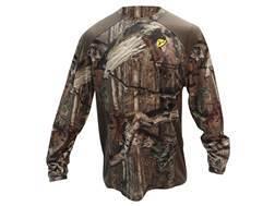 ScentBlocker Men's Midweight Crew Base Layer Shirt Polyester Mossy Oak Break-Up Infinity Camo Medium 38-40