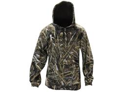Hard Core Men's First Flight Microfleece Hooded Sweatshirt Polyester Realtree Max-5 Camo