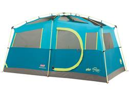 "Coleman Tenaya Lake Fast Pitch 6 Man Cabin Tent 156""x84""x79"" with Cabinets Polyester Blue, Green ..."