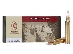 Nosler Custom Ammunition 30-378 Weatherby Magnum 180 Grain AccuBond Spitzer Box of 20