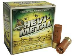 "Hevi-Shot Hevi-Metal Waterfowl Ammunition 12 Gauge 2-3/4"" 1-1/8 oz #2 Non-Toxic Box of 25"