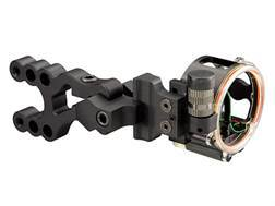 "Trophy Ridge Alpha V3 3-Pin Bow Sight .019"" Pin Diameter Right Hand Aluminum Black"
