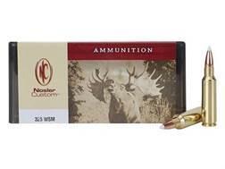 Nosler Custom Ammunition 325 Winchester Short Magnum (WSM) 200 Grain AccuBond Spitzer Box of 20