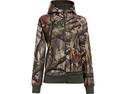 Under Armour Women's Camo Full Zip Hooded Sweatshirt Polyester