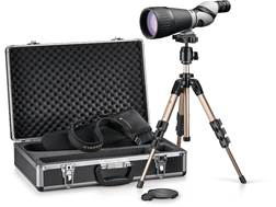 Leupold Kenai 2 HD Spotting Scope 25-60x 80mm Straight Body Gray/Black with Tripod, Hard and Soft...