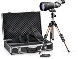 Leupold Kenai 2 HD Spotting Scope 25-60x 80mm Straight Body Gray/Black with Tripod, Hard and Soft Ca
