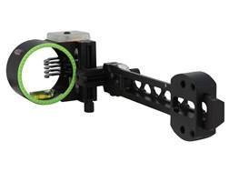 "Black Gold Vengeance Dovetail Big Dog 5-Pin Bow Sight .019"" Pin Diameter Right Hand Aluminum Black"