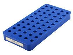 Frankford Arsenal Perfect Fit Reloading Tray #2 17 Remington, 223 Remington, 30 M1 Carbine 50-Round Blue