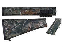 Yankee Hill Machine A2 Buttstock, Rifle Length Customizable Handguard, Pistol Grip Kit AR-15 Realtree AP Camo